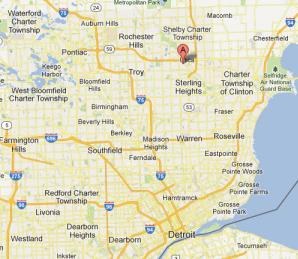 Michigan Testing Institute Inc Is Located In Macomb County At - Michigan location in usa